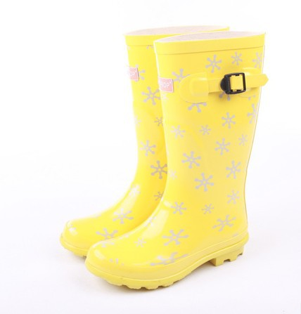 fashion women custom made rubber boots wellies wellington boots