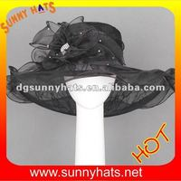 Designer lady Church Hat