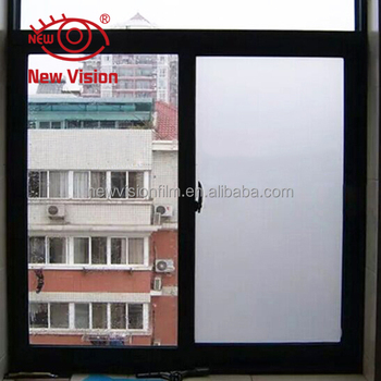 Alibaba online wholesale white frosted window film explosion proof sun shade privacy building etched glass window film