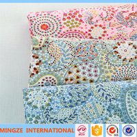 100 Organic Cotton Printing Fabric For