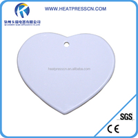 fashion beautiful Sublimation Plastic Pendent Jewelry pendent