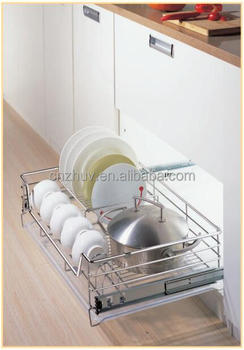Appliance of Stainless steel Multi-Functional Drawer Basket