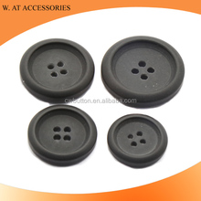 Round shape polyester buttons factories