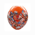 Round shape Murano glass vase