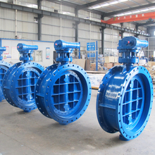 DN600 PN10 Flange type stainless steel/carbon steel Pneumatic/electric actuator,gear operated ,cast iron butterfly valves