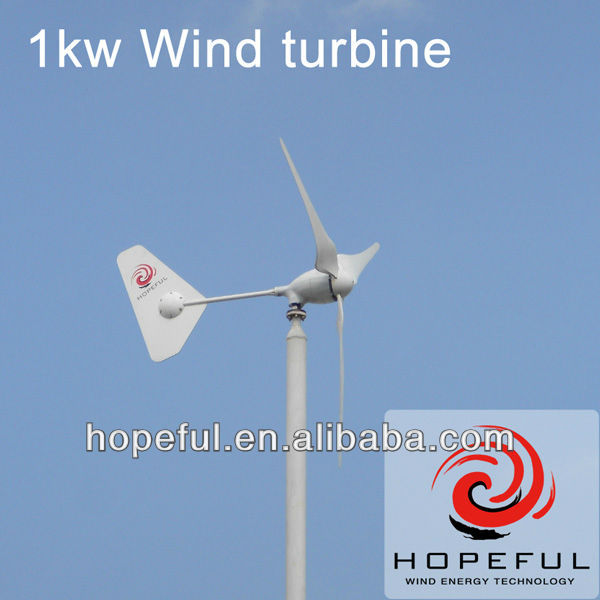Green power energy CE approved 1000W wind turbine generator
