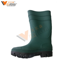 Hot sale gumboots, industrial rubber boots, PVC safety rain boots