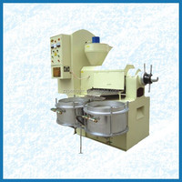 Qie High quanlity soybean oil press machine price with engineer group oil press machine 2016 hot sell