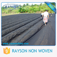 3% Anti-UV agriculture biodegradable weed control fabric PP non woven