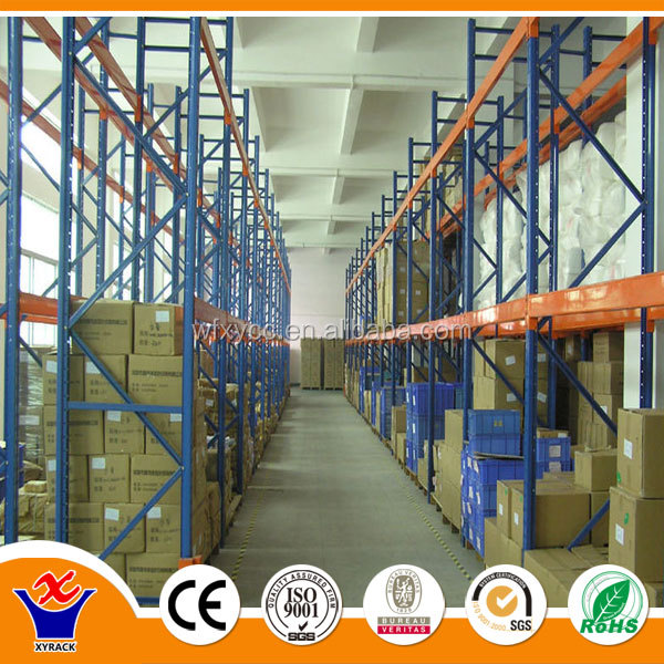 high quality hi-utilization drive-in pallet rack ing