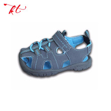Hot sale closed toe baby sandal,cute baby barefoot boy sandals