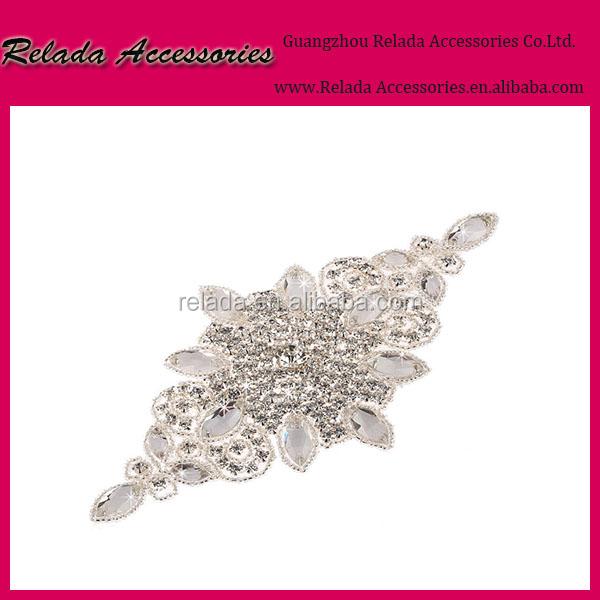 Wholesale Wedding Invitations Crystal Applique Rhinestone