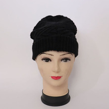 Wholesale Adult Blank Funny Winter Knitted beanie Hat