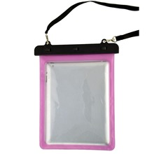 3 meter swimming diving PVC material waterproof pouch bag for ipad