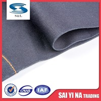 Soft feeling anti-static fr twill pants denim fabric for jeans clothing