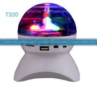 t-320 DJ smart led wireless speaker With Built-In Light Show,Stage & Studio Effects, RGB Color Crystal Ball