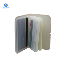 Customized Size Multi-function Portable Silicone Business Card Holder