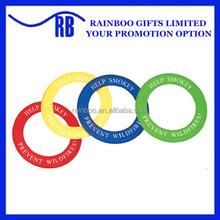 Cheap logo printed disc flying game plastic frisbee ring