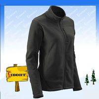JDHM-1397 womens fancy fleece jacket/plain fleece jacket 3xl