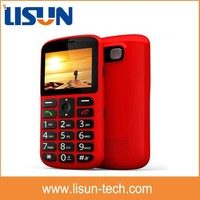 "2.2"" gsm quad band large button senior mobile phone cheap price for old people easy to use"