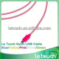 mobile phone colorful micro usb cable for samsung galaxy s3 for S4 for NOTE3 2014 New product