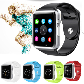 New Bluetooth A1 WristWatch Sport Pedometer With SIM Camera Smartwatch For Apple iPhone 6 Samsung S4/Note 2/Note 3 HTC Android/
