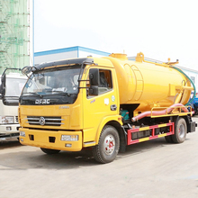 Sewer Septic Tanks Vacuum Pump Sewage septic suction Tanker Truck