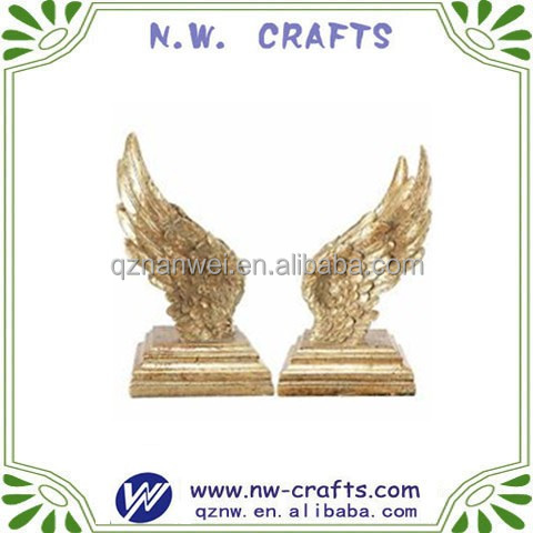 custom angel wings statue home decor