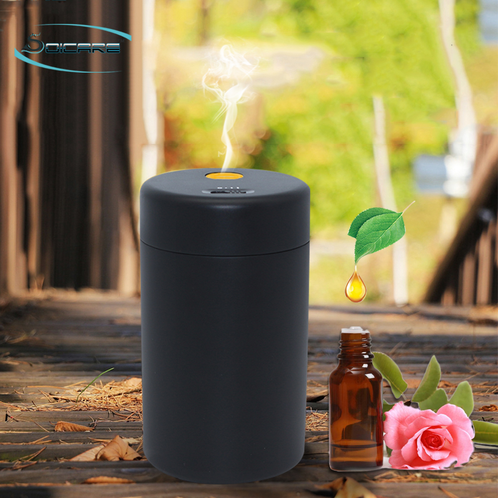 SOICARE Noiseless Micron Portable Battery Operated Automatic Mist Essential Oil Diffuser