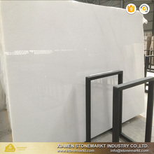 Polished pure crystal white marble