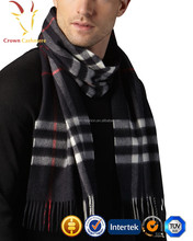 2017 Winter Scottish Cashmere Scarf for men