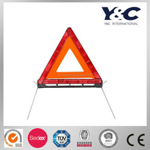 Warning triangle/safety reflector warning triangle