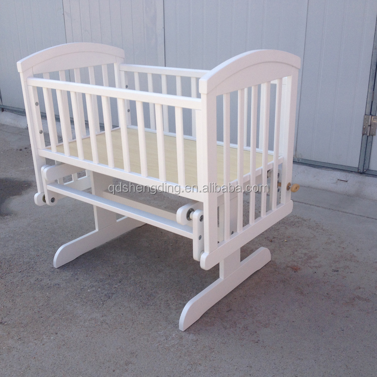 Factory sale solid wood furniture baby swing baby cradle stand