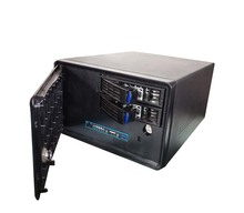 New arrival Nas 2bays mini Tower Server Case Computer Case Of Storage Rack Case