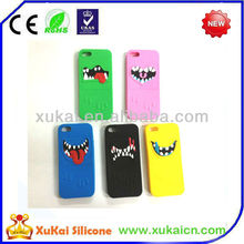 2015 novelty cute custom design OEM silicone mobile phone case cover for Halloween