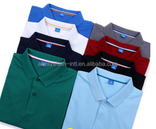 100% Cotton polo shirts sublimated / dry fit sports running polo shirt