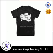 Hot sale wholesale custom two tone t-shirt with raglan sleeve