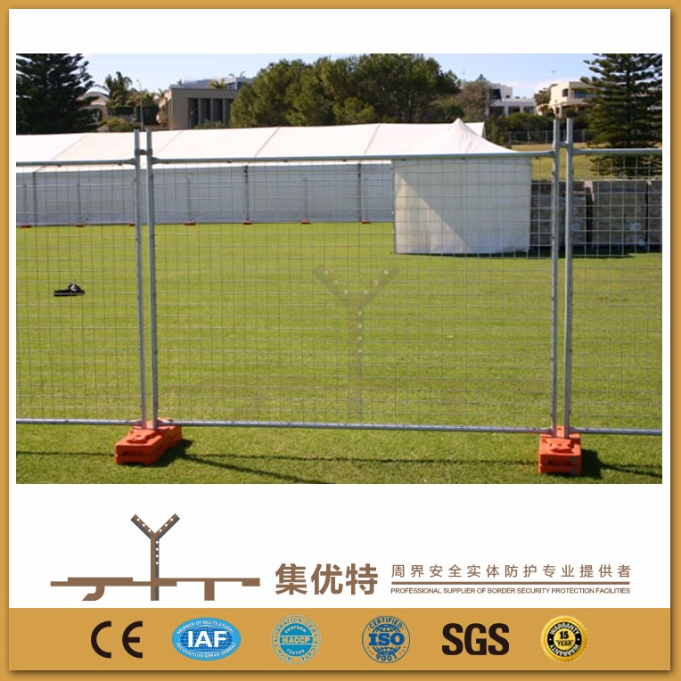 Applied for factory galvanized and PVC coated outdoor temporary dog fence