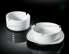 "porcelain 3""-4.5"" ashtray w.board-line,H5492"