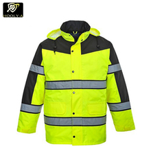High Quality Wholesale Lime green Reflective Safety Hi Vis Workwear/Jacket