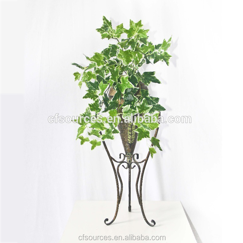 Potted Artificial hanging ivy vines for home decoration