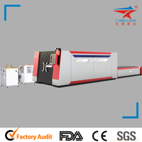 CNC CO2 Laser Machine Pipe Laser Cutter with Construction Machinery Parts