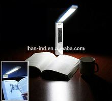Portable & foldable & rechargeable led desk lamp with usb port with LCD calendar