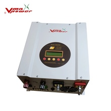 hybrid solar power system 40A controller pure sine wave off-grid solar power inverter with mppt