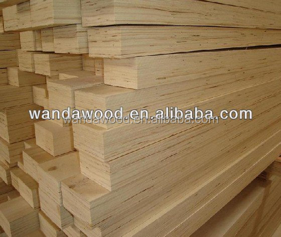 Plywood Laminated Pine ~ Poplar or pine lvl laminated veneer lumber for pallet