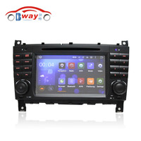 Dualcore Capacitive car radio for C class W203 W209 android 4.4 car dvd gps with 3G,wifi,1G RAM, 8GB Nand,1080P