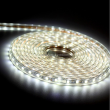 100m per roll SMD5050 strip 220V EU plug 3800K led flex