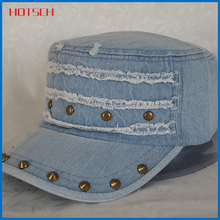 High Quality Checked Fabric Army cap/Military Cap/Army Winter Hat