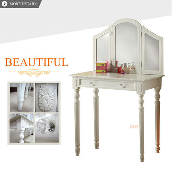 girls favorite furniture wooden dressing table deign