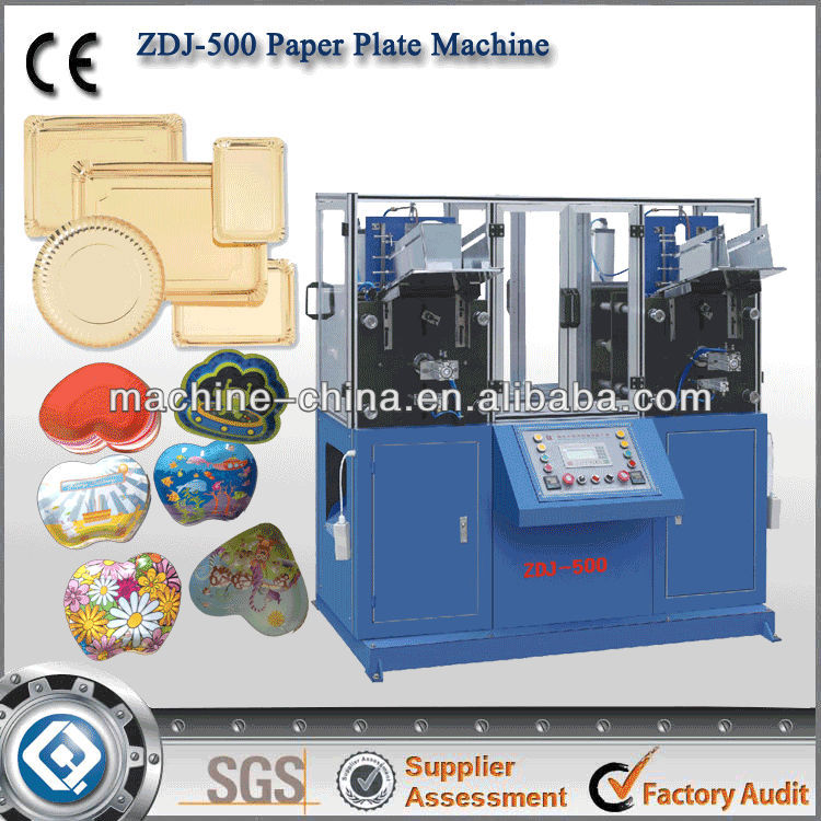 China supplier automatic high speed paper plate making machine in india